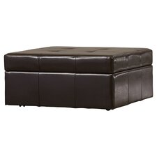 Fryth Leather Upholstered Storage Ottoman