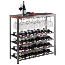 Gillam 40 Bottle Floor Wine Rack
