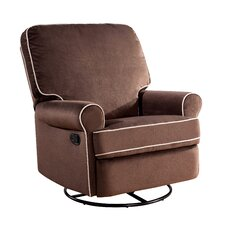 Roquemore Fabric Swivel Glider Recliner