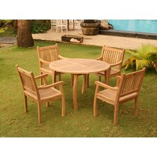 Lucy 5 Piece Dining Set