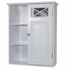 "Coddington 20"" x 25"" Wall Mounted Cabinet with Single Door and Shelves"
