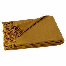 Layman Cotton and Soft Acrylic Solid Throw