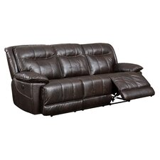 Reinhart Leather Reclining Sofa