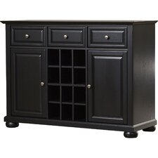Pottstown Buffet Server / Sideboard Cabinet with Wine Storage