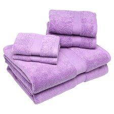 Bloomberg 6 Piece Bath Towel Set