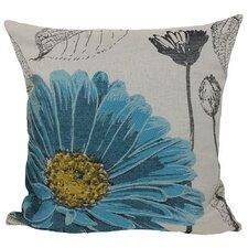 Krauss Flower Embroidery Throw Pillow