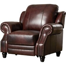 Ferrero Leather Wing Recliner