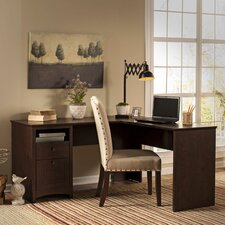 """Egger 60"""" Executive L-Desk"""