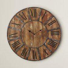 "Oversized 24"" Metal Wall Clock"