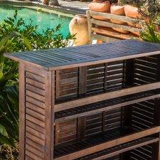 Symonds Outdoor Wood Bar
