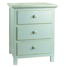 Arrowwood 3 Drawer Nightstand
