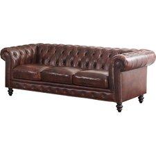 Tunbridge Wells Top Grain Leather Sofa