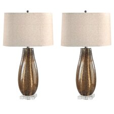 "Gordo Oval 28"" H Table Lamp (Set of 2)"