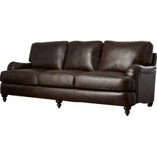 Charles Leather Sofa