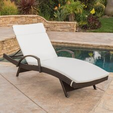 Luther Chaise Lounge with Cushion