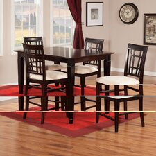 Bluffview 5 Piece Pub Table Set