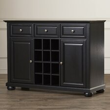 Pottstown Buffet Server / Sideboard Cabinet with Wine Storage