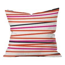 Waynesville Crew Stripe Warm Indoor/Outdoor Throw Pillow