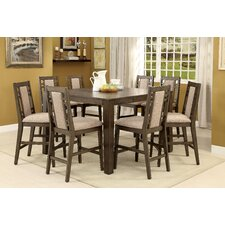 Stewart 9 Piece Counter Height Dining Set