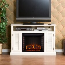 Ginsberg TV Stand with Electric Fireplace