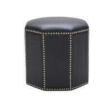 Nicholas Leather Ottoman