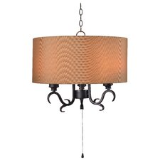 Boerner 3 Light Outdoor Pendant