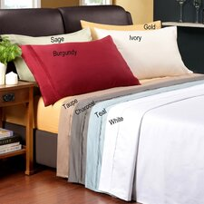 Amherst 1200 Thread Count Premium Long-Staple Combed Cotton 3 Piece Solid Duvet Cover Set