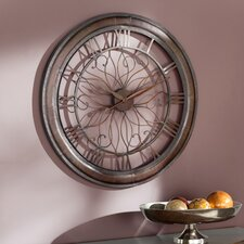 "Evans Oversized 30.25"" Wall Clock"