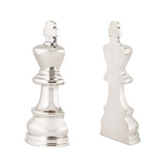 Chess 2 Piece Book Ends (Set of 2)