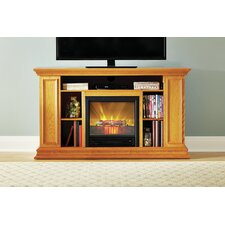 "Portland 50"" TV Stand with Electric Fireplace"