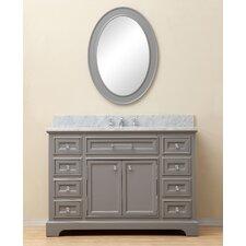 "Colchester 48"" Single Sink Bathroom Vanity Set - Grey"