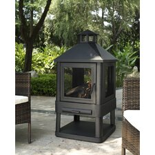 Angarano Outdoor Villa Pagoda Fireplace