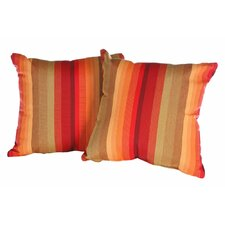 Anns Indoor/Outdoor Sunbrella Throw Pillow (Set of 2)