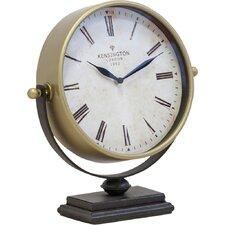 Gold Metal Desk Clock