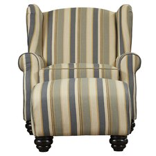 Brougham Arm Chair and Ottoman