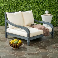 Crumpton Chaise Lounger with Cushion
