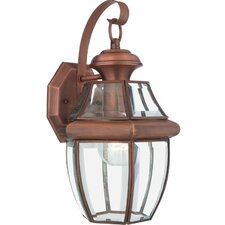 Saddler 1 Light Outdoor Wall Lantern