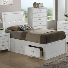 Acres Upholstered Storage Platform Bed
