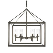 Ginsberg 6 Light Candle Chandelier