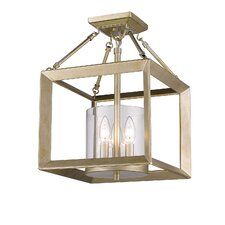 Ginsberg 3 Light Foyer Pendant