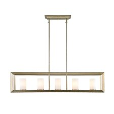 Ginsberg 5 Light Kitchen Island Pendant