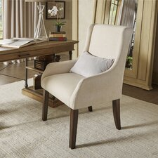 Tinley Linen Sloped Arm Chair