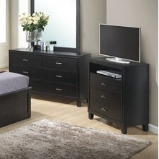 Acres 3 Drawer Media Chest