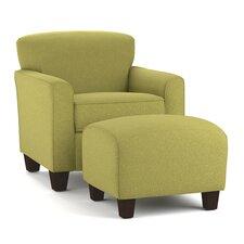 Arm Chair & Ottoman