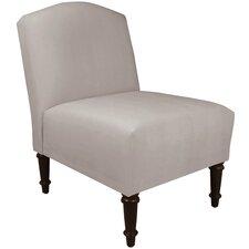 Caswell Camel Back Slipper Chair