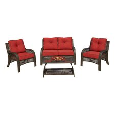 Cassimere 4 Piece Seating Group with Cushions