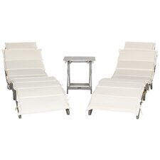 Pacifica 3 Piece Lounge Set