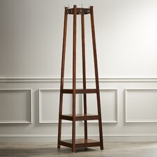 Crannell 3 Tier Tower Shoe & Coat Rack