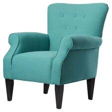 Delia Neon Button Back Arm Chair