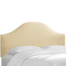 Curved Upholstered Headboard